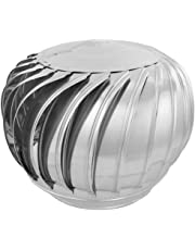 PrimeMatik - Sombrero Extractor de Humos galvanizado Giratorio para Tubo de 350 mm de diámetro