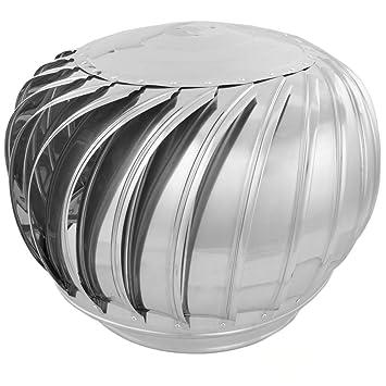 PrimeMatik - Sombrero Extractor de Humos galvanizado Giratorio para Tubo de 350 mm de diámetro: Amazon.es: Electrónica