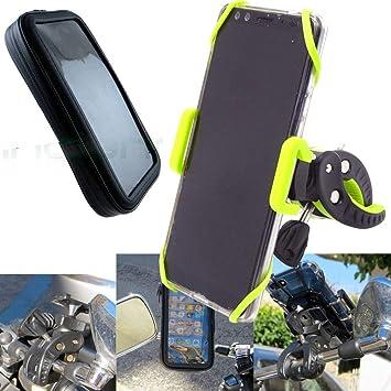 Vinciann Soporte Moto Scooter ciclomotor Impermeable Garra Smartphone OK33 móvil: Amazon.es: Electrónica