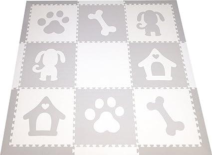 Amazon Softtiles Childrens Foam Playmat Dog Theme Nontoxic