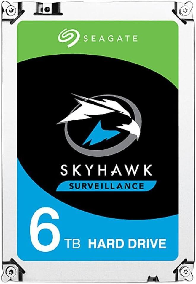 """Seagate Skyhawk ST6000VX001 6TB 3.5"""" Internal Hard Drive - SATA"""
