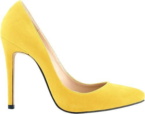 Yellow Womens Heels