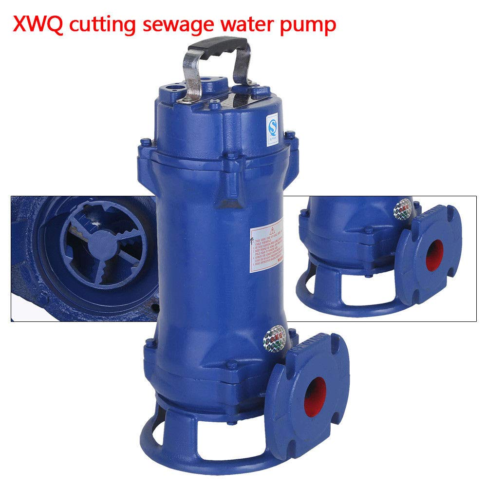 Sewage Pump, Pool Pond Flood Submersible Water Pump 1100w 110V Low Energy Consumption for Factories,Hospitals,Residential Sewage Discharges. by GDAE10 (Image #5)