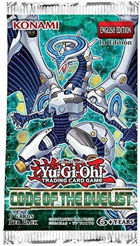 Yugioh Return of the Duelist Booster Pack 1st Edition Sealed Fast Shipping