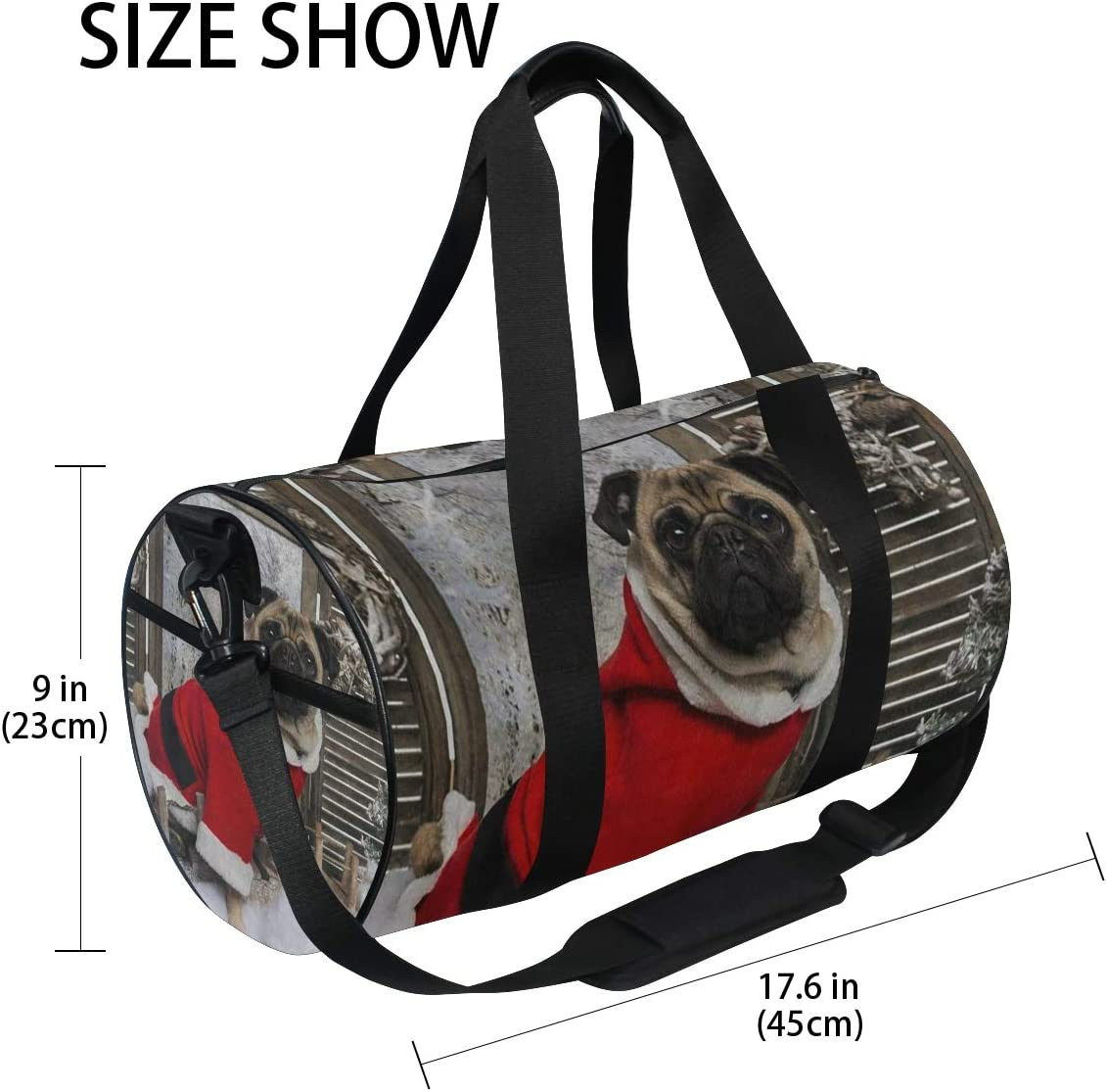 SLHFPX Sports Bag Underwater World Coral Reef Dolphin Mens Duffle Handbag Travel Table Tennis Bags Gym bag