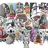 #10: Star Wars Stickers Vinyl Decal Assortment - 25 ct Variety Pack - Set 2 (DRC US Seller)