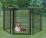 Carlson Pet 2-in-1 Configurable Weather-Resistant Outdoor 144-Inch Super Pet Gate and Pen