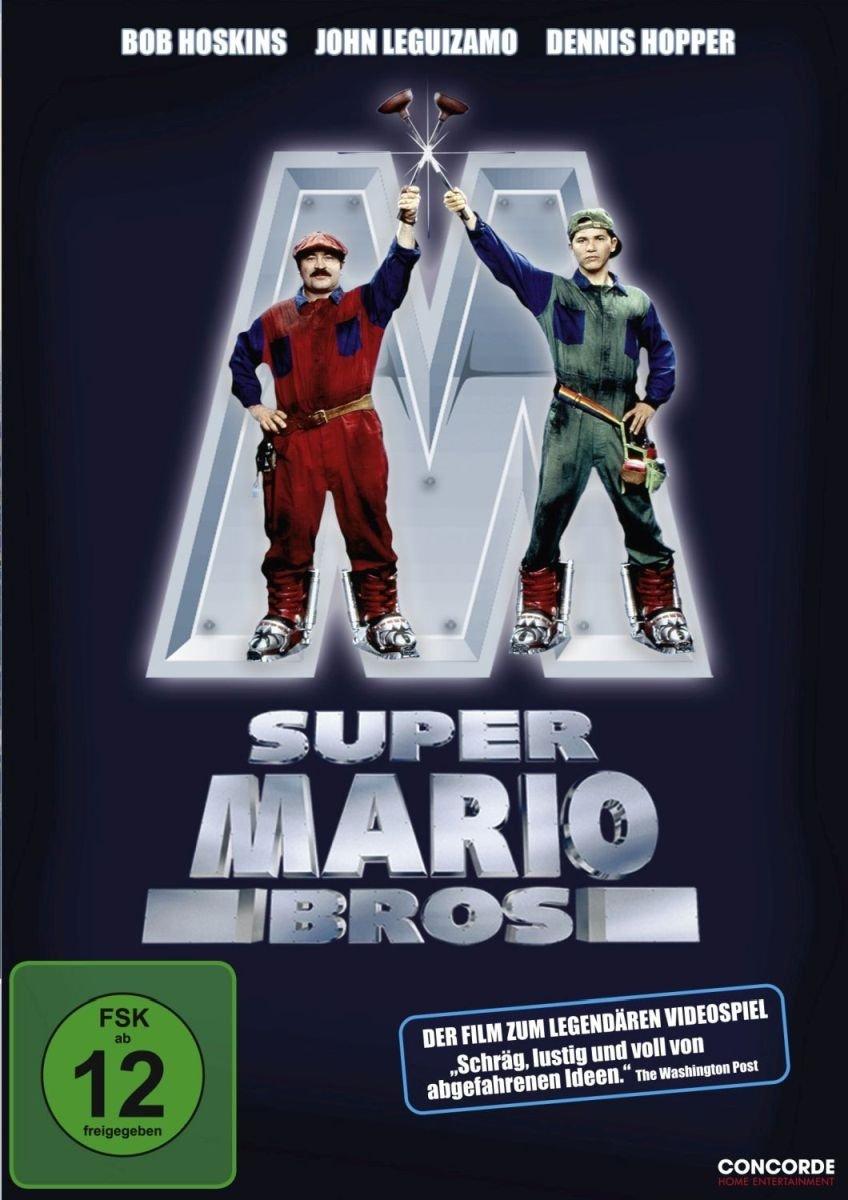 Amazon Com Super Mario Bros Dvd 1993 Bob Hoskins John