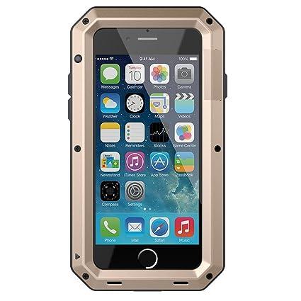 Amazon.com: Carcasa para iPhone 7, cristal de orilla de lujo ...