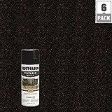 12 oz. Moonlight Copper Protective Enamel Metallic Textured Spray Paint (6-Pack)