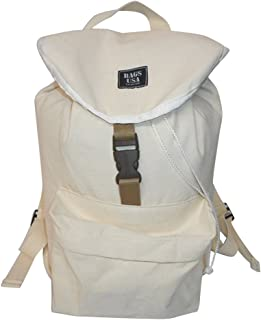product image for Canvas Backpack 12 Oz Drawstring Backpack Environmentally Friendly Made in USA.