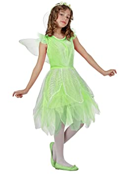 Atosa-10733 Disfraz Hada, color verde, 5 a 6 años (10733): Amazon ...