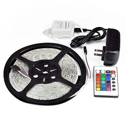 Amazon rv awning camper recreational vehicle rgb led lights rv awning camper recreational vehicle rgb led lights 164 feet of led strips with 24 mozeypictures Gallery
