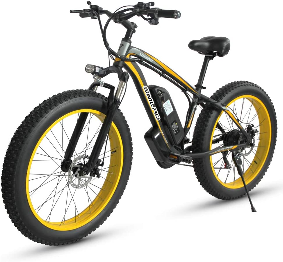 Shengmilo MX02, Bicicleta eléctrica, Motor 1000W, ebike Gordo de ...