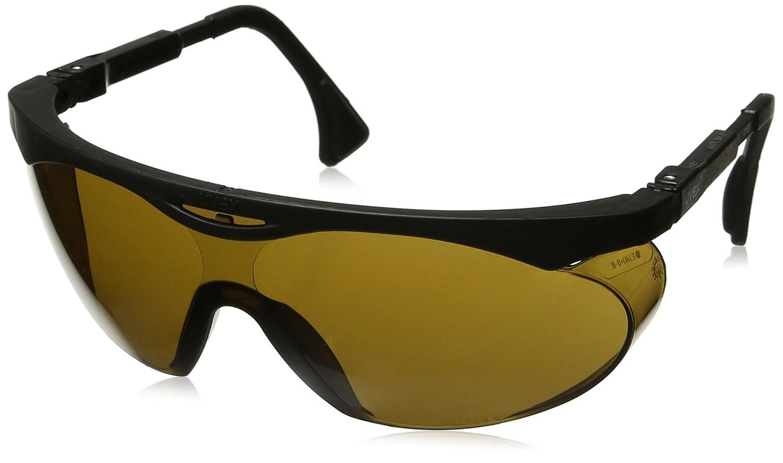 Uvex S1901 Skyper Safety Eyewear Espresso Ultra-Dura Hardcoat Lens Black Frame