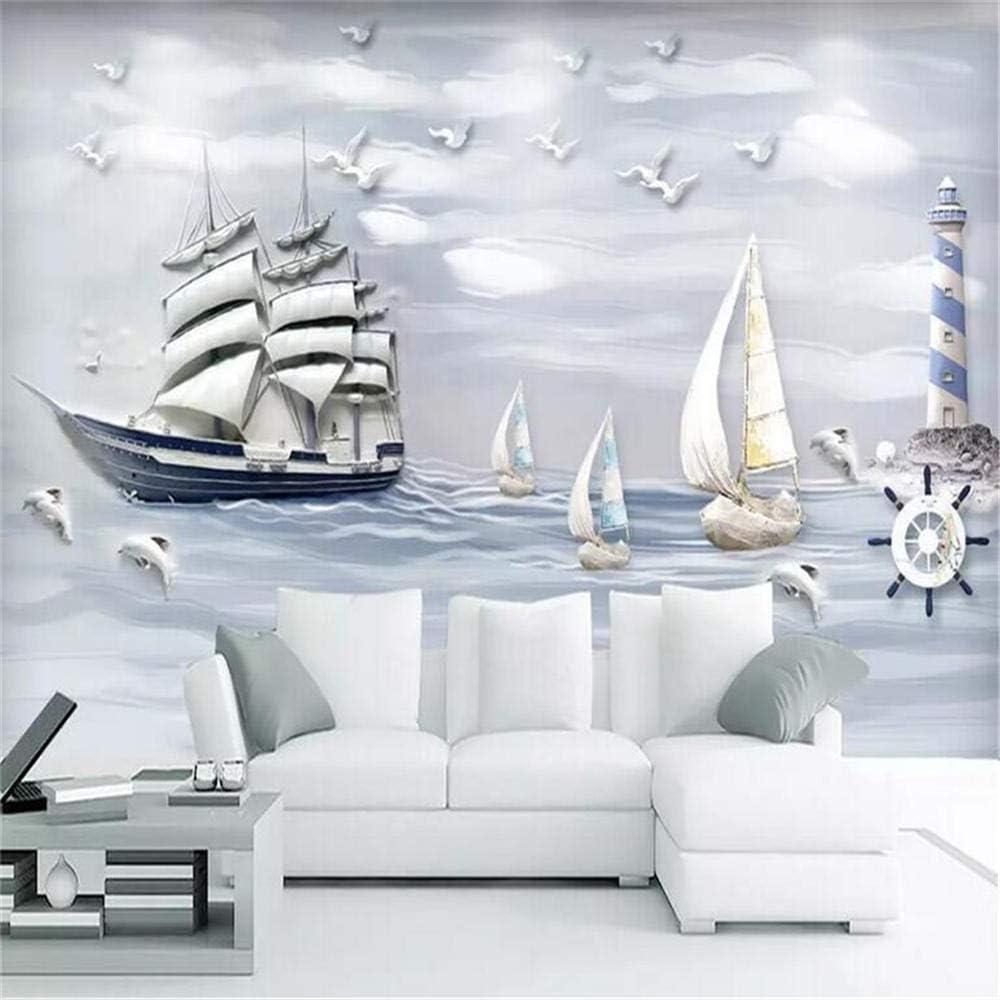 Mural PapelPintadoTelaNoTejidapapel Pintado Personalizado 3D Flor Azul Pintada A Mano Murales De Mariposas Blancas Telón De Fondo De Televisión Mural De Pared Papel Pintado Para Pared 3 D-About_3