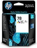 HP 78 Tri-color Original Ink Cartridge C6578D#301