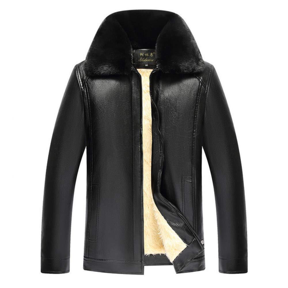 JIAKENVDE Winter Pu Jacke Große Größe Mit Weiß Für Männer Herbst Männlichen Casual Dicke Warme Business Oberbekleidung Mantel