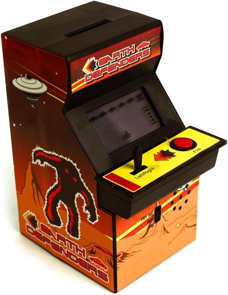 Arcade Machine caja de dinero Banco Retro Navidad regalos: Amazon ...