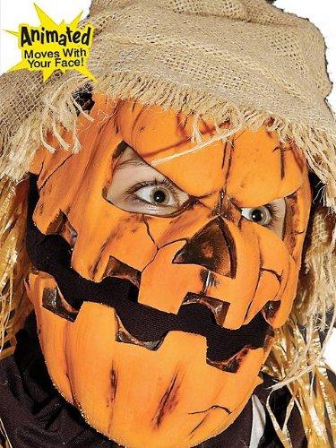 Zagone Smashing Jack Mask, Pumpkin or Gourd Character ()