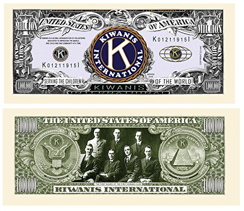 Set of 50 - Kiwanis Million Dollar Bill