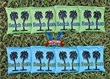 Victory Tailgate Custom Beach Bum Cornhole Bag Set (corn Filled)
