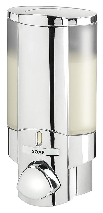 Exceptionnel Better Living Products 76140 AVIVA Single Bottle Soap And Shower Dispenser,  Chrome