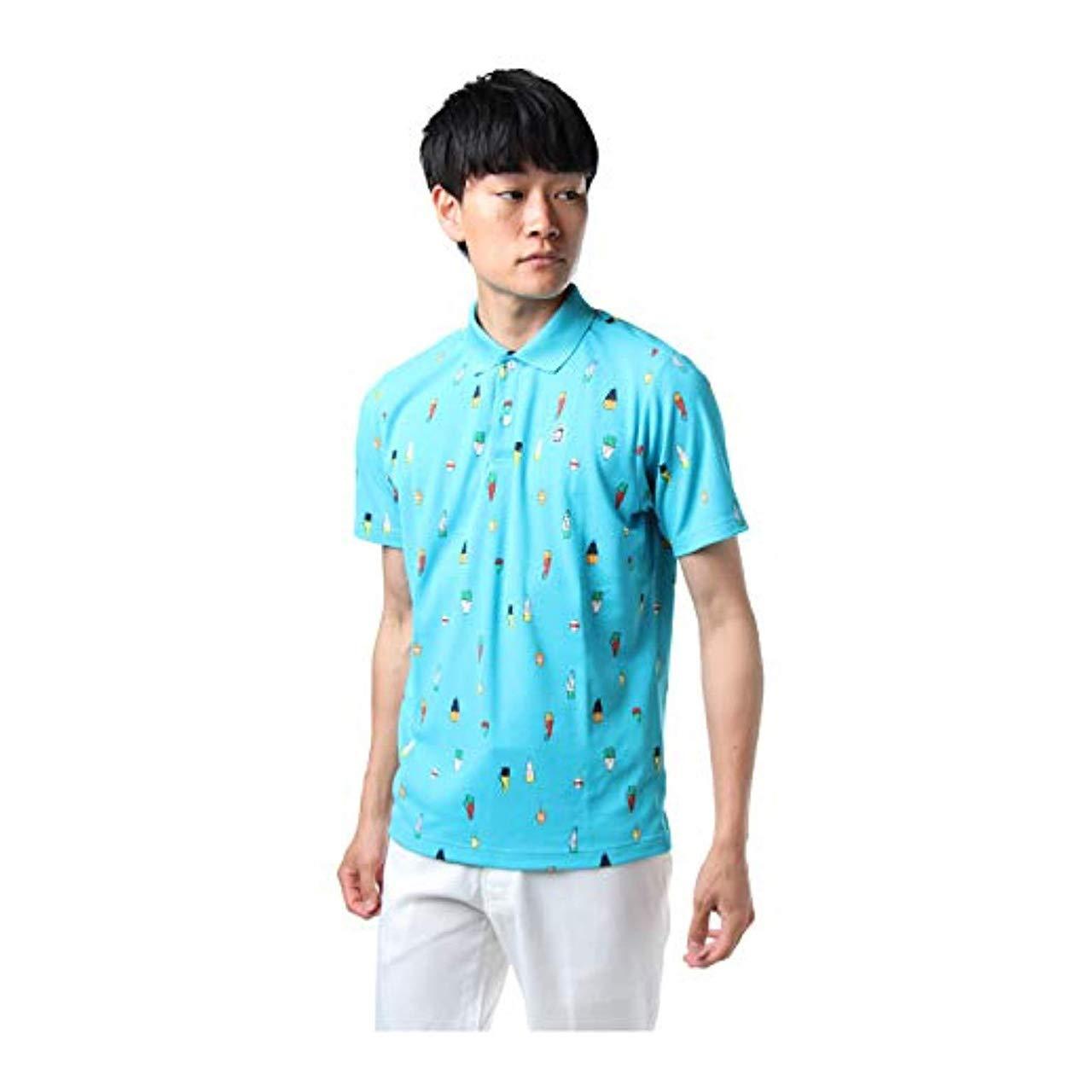 マンシングウェア(Munsingwear) DCSクーリング半袖シャツ MGMLJA22 BL00 ブルー LL   B07C76W6YF