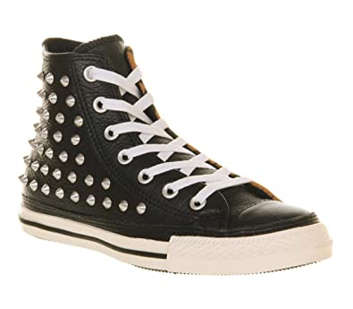 Converse All Star Hi Lthr Studded Leather Animal Suede - 7 UK   Amazon.co.uk  Shoes   Bags 77e9a0feb