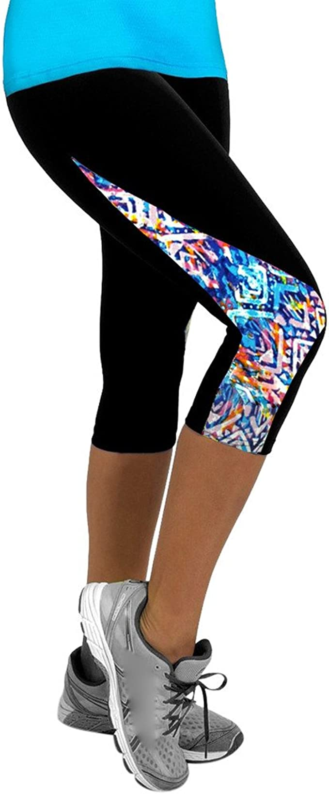 Leggings Modellante a Alta Vita Spandex Leggings da Yoga Donna Sportivi Eleganti Ragazza Opaco Palestra Leggings Homebaby Pantaloni Donna Fitness Push Up
