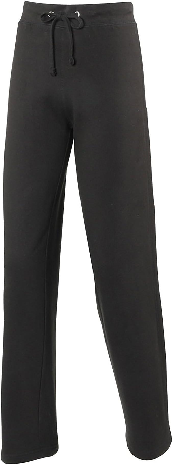 Awdis - Pantalones de chándal para mujer/chica (Grande (L)/Negro ...