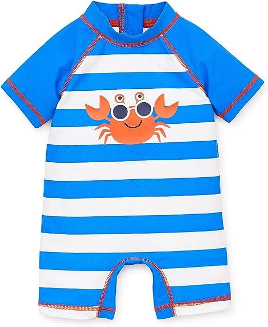Short Sleeve Rashguard Swim Shirt Little Me Baby Boys UPF 50