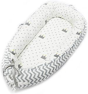 Baby Sleep Pod neonato, nido portatile lavabile e rimovibile per neonati e neonati, sacco a pelo traspirante multifunzione D.ragon
