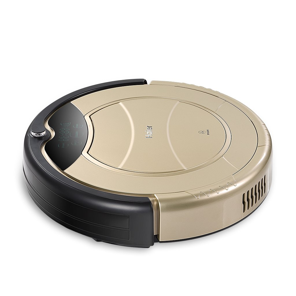 Haier - Robot aspirador (Pantalla LED, Autonomía 900 min ...