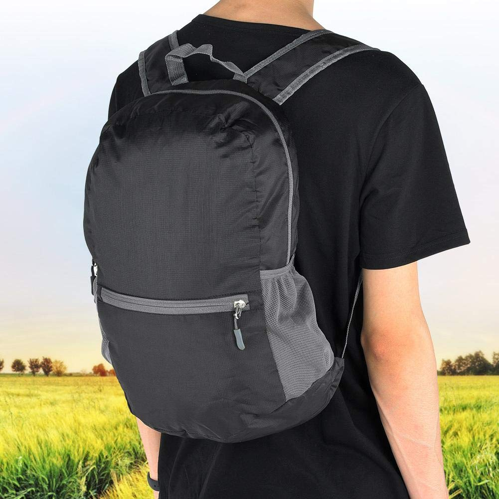Mochila de Viaje de 20 litros Mochila Deportiva Plegable Ultraligera y Resistente al Agua Mochila Casual Empacable para Acampar Senderismo Viajes