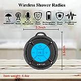 ASIYUN Shower Radios, Waterproof Speaker with