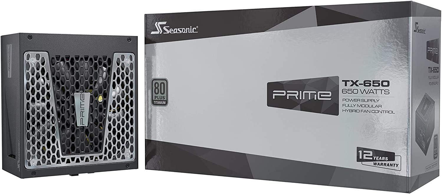 Seasonic Prime Tx 650 Pc Netzteile 80 Plus Titanium Computer Zubehör