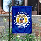 College Flags and Banners Co. US Merchant Marine Mariners Seal Garden Flag
