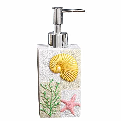 ZHIHUI Dispensadores de jabón de loción Botella desinfectante de manos Botella de loción de resina creativa