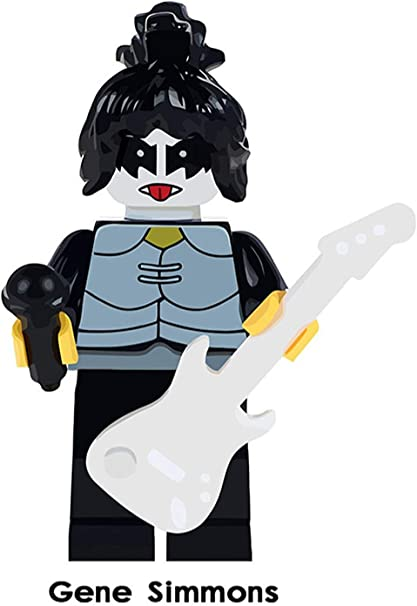 Kiss Musicians Rock Figures Gene Simmons Eric Singer Tommy Thayer Paul Stanley
