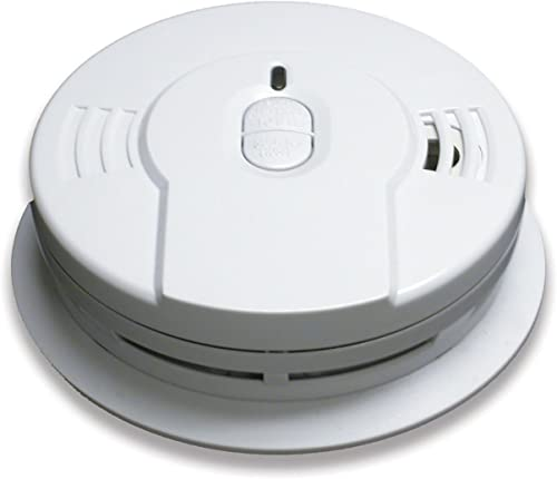 4 Pack of Kidde i9010 10-Year Sealed Lithium Battery-Operated Smoke Alarm with Memory and Smart Hush