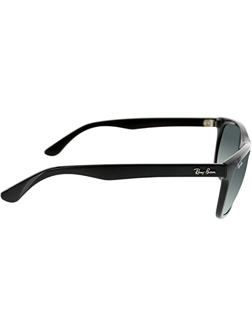 1b50a871242 Amazon.com  Ray Ban RB4181 Sunglasses-601 71 Black (Gradient Gray Lens)-57mm   Ray-Ban  Shoes