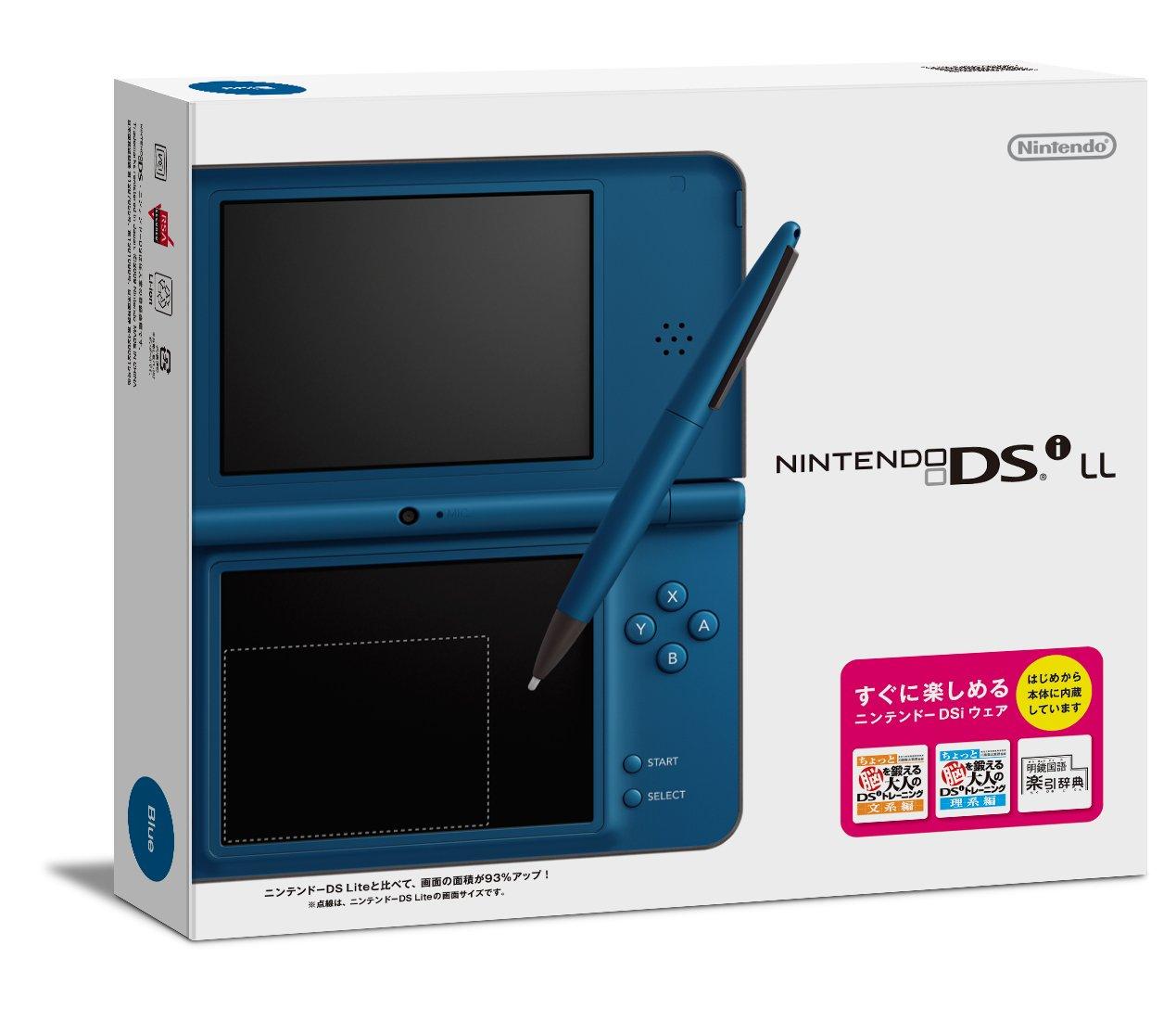 Nintendo Dsi Ll Blue
