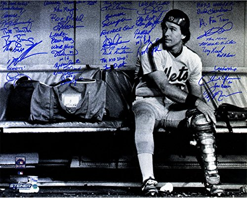 Steiner Sports 1986 New York Mets Team Signed & Inscribed Gary Carter Tribute 16x20 Photo
