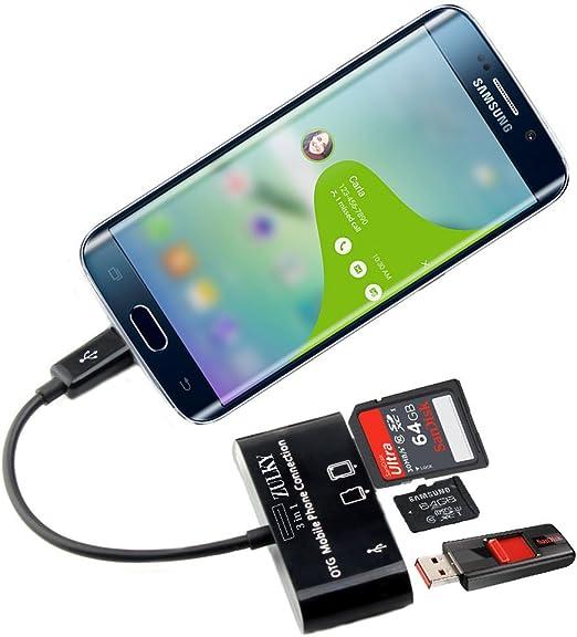 ZULKY® MicroUSB OTG Host Adapter Memory Card Reader/writer for ...