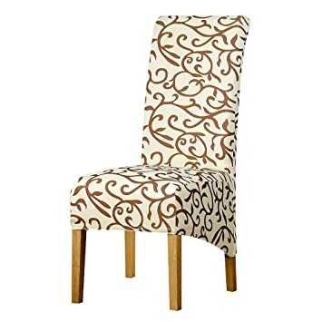 Amazon.com: Posreng Long Back Size Chair Cover High Back Large Size ...