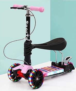Scooter Para Niños 2-3-6-9 Años De Edad Niño Yo Bicicleta De ...