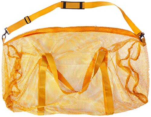 Champion Sports Mesh Duffel Bag Color: Gold, Size: 15 in x 36 (Colour Mesh)