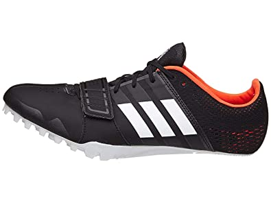 adidas Running Men s Adizero Accelerator Core Black Footwear White Orange  7.5 D US ac3d4dd17