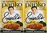 Emeril's All Natural Panko Bread Crumbs - Italian Seasoned - 8 oz - 2 pk